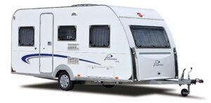 Caravan huren 450 Euro per week